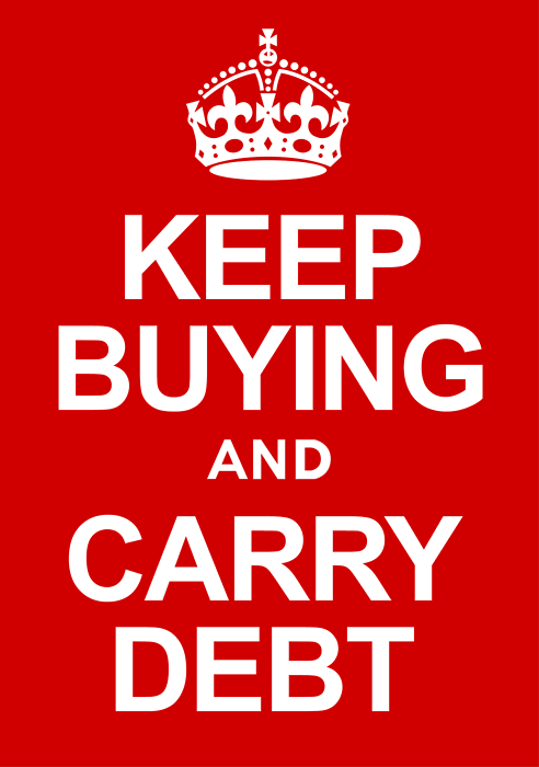 Keep Buying and Carry Debt