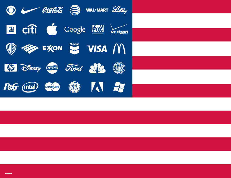 The Corporate States of America by AdBusters